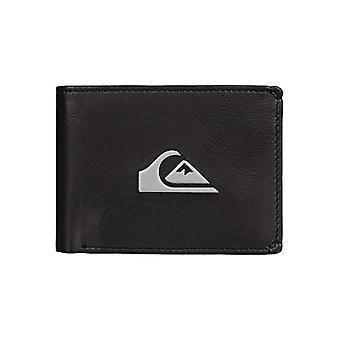 Quiksilver Travel Accessories- Bi-Fold Wallet, Black