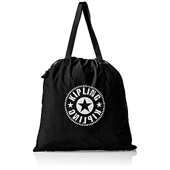 Kipling New Hiphurray L Fold - Women's Tote Bags, Black (Lively Black), 0.1x45x49.5 cm (B x H T)(2)