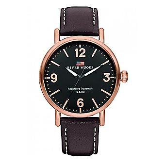 River Woods Analog Men's Quartz Watch with Leather Strap RW420034