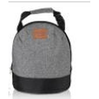 Oxford Insulated Lunch Bags Portable Thermal Box Food Picnic Bento Cooler Tote insulated(Grey)