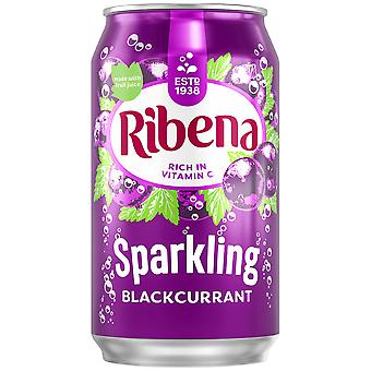 Ribena Sparkling Blackcurrant Cans