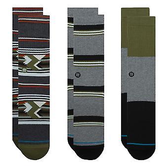 Stance Grand 3 Pack Socks - Multi