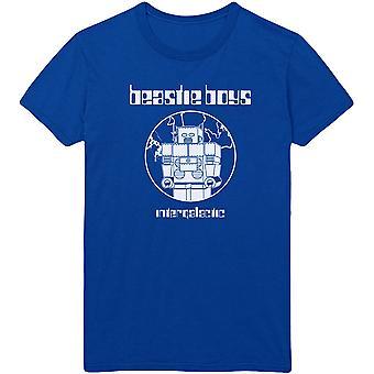 The Beastie Boys - Intergalactic Men's XX-Large T-Shirt - Royal Blue