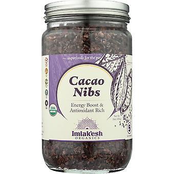 Imlakesh Organics Nibs Cacao Org, Caso de 6 X 16 Oz