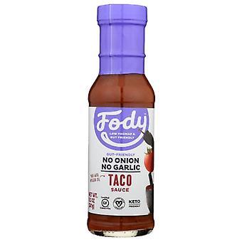 Fody Food Co Sauce Taco, Boîtier de 6 X 8,5 Oz