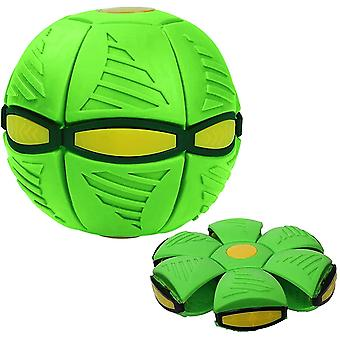 Magic Ufo Ball , Outdoor Parent-child Game Ball(Green)