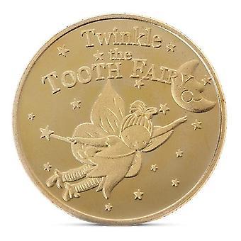 מטבע מצופה זהב פיית שיניים