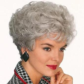 New Style European And American Wig Headgear For Ladies Short Curly Hair