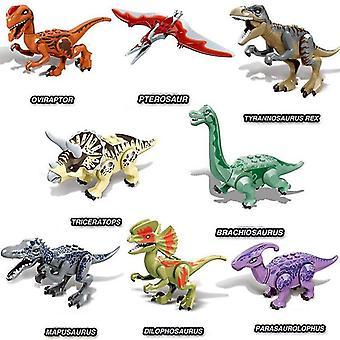 Переплетение блоков юрского периода динозавров парк детеныша динозавра мира кристаллический хищник птерозавр