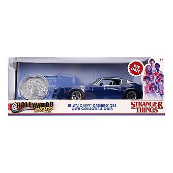 Billy's 1979 Chevrolet Camaro Z28 Toy Muscle Sports Car avec collectors Coin, échelle 1:24
