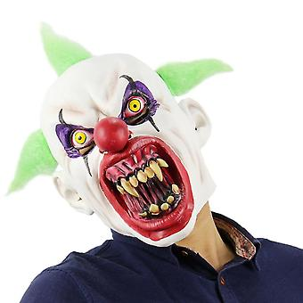 Halloween Blood-mouthed Fangs Clown Mask