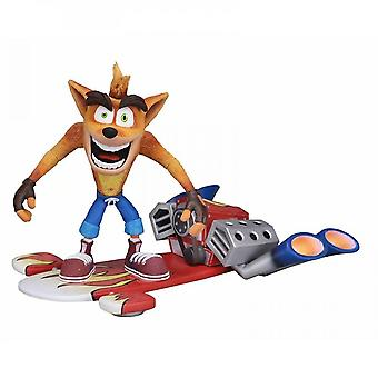 Hywell Crashing Wolf Attack: Crazy Trilogy Crashing Wolf Flying Edition 7-inch Movable Model Figure