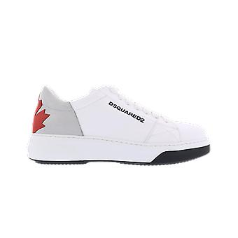 Dsquared2 Lace-Up Low Top Sneake White SNM01736500413M1476 shoe