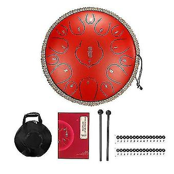 Drum kits steel tongue drum 12.5 Inch 15 tone handpan drums tongue drum kit percussion musical instruments