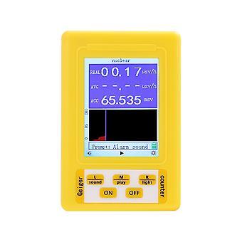 Br-9c 2-in-1 Handheld Digitalanzeige Elektromagnetische Strahlung Kerndetektor Emf Geigerzähler Vollfunktionaler Typ Tester