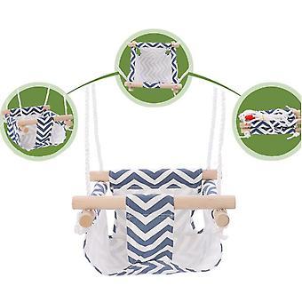 Indendørs og udendørs fritid hængende stol klud lomme baby swing