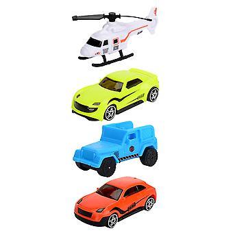 Mini muovinen auto malli lelu off-road paloauto poika malli buginen lelu