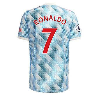 Camiseta de fútbol masculino Mnchester 2021-2022 Nueva temporada United #7 Ronaldo Camiseta de fútbol Camisetas deportivas Talla S-xxl