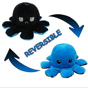 Reversible Mood-changing Octopus Plush Toy Doll Double-sided Flip Doll