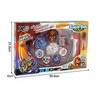 Burst Turbo Sparking With Launcher Metal Booster Bay Starter Gyro Bayblade