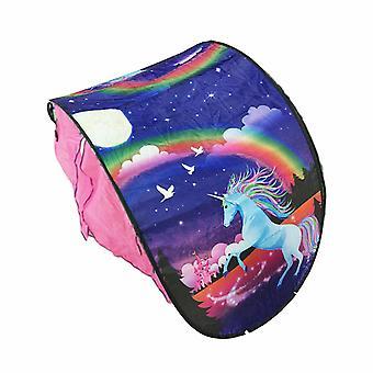 Unicorn Print Cort pliabil pentru copii