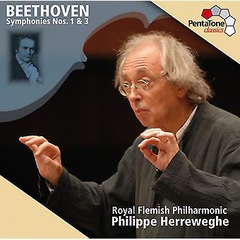L.V. Beethoven - Beethoven: Symphonies Nos. 1 & 3 [SACD] USA import