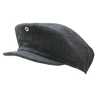 New Grey Wool Drivers Flat Hat Racing Country Cap