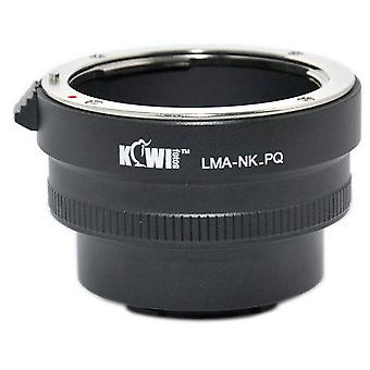 Kiwifotos Lens Mount Adapter: Allows Nikon F-Mount Lenses to be used on the Pentax Q, Q10