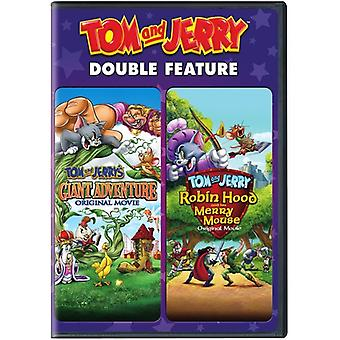 Tom & Jerry: Giant Adventure / Robin Hood & His [DVD] USA import