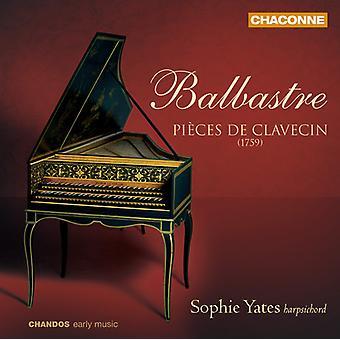 C.B. Balbastre - Balbastre: Pi Ces De Clavecin [CD] USA import