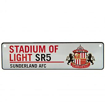Sunderland Window Sign