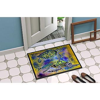Carolines Treasures  8405-MAT Turtle  Indoor or Outdoor Mat 18x27 8405 Doormat
