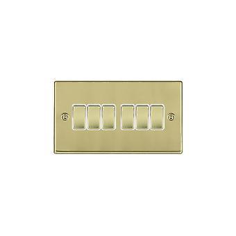 Hamilton Litestat Hartland полированная латунь 6g 10AX 2 способ коромысла PB/WH