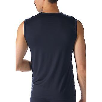 MEY 34237 muži ' s síťový mořský modrý bavlněný tank vesta nahoře