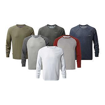 Craghoppers Mens NosiLife Bayame Long Sleeve T-Shirt