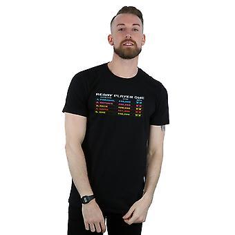 Valmis pelaaja 8-bittinen tulostaulu t-paita