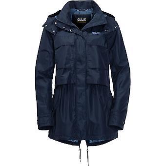 Jack Wolfskin naisten/Rosamond vedenpitävä Parka tuulenpitävä takit