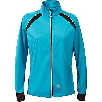 Overtredelse kvinners/damer dekket vanntett lett aktive jakke