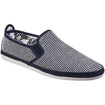 Flossy Mens Brieva Slip op Canvas Casual zomer Espadrille pompen schoenen