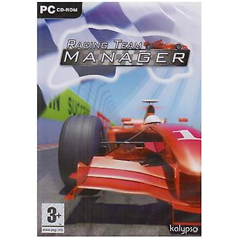 Racing Team Manager (PC DVD)-ny