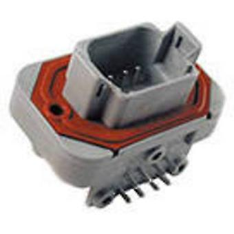 TE Connectivity DT13-08PA Bullet connector Plug, horizontal mount Series (connectors): DT Total number of pins: 8 1 pc(s)