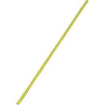 החום התכווצות w/o דבק צהוב, ירוק 9 מ