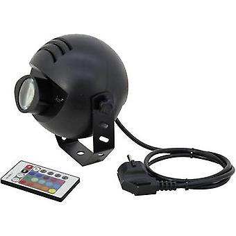 Eurolite LED PST-9W TCL IR Spot LED pin spot No. of LEDs: 1 x 9 W Black