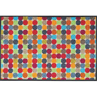Mikado points 50 x 75 cm lavable tapis lavage + sec
