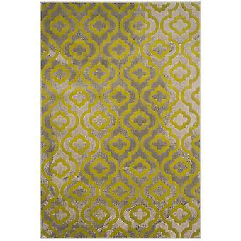 Webteppich Kurzflor Wohnzimmer Indoor Teppich grau grün Indoor Rugs - Pacific Evergreen Grey Green 92 / 152 cm  - Teppich für den Wohnbereich innen
