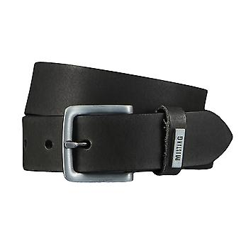 MUSTANG belts men's belts leather jeans belt black 4338