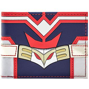 My Hero Academia All Might Red & Blue Suit ID & Card Bi-Fold Wallet
