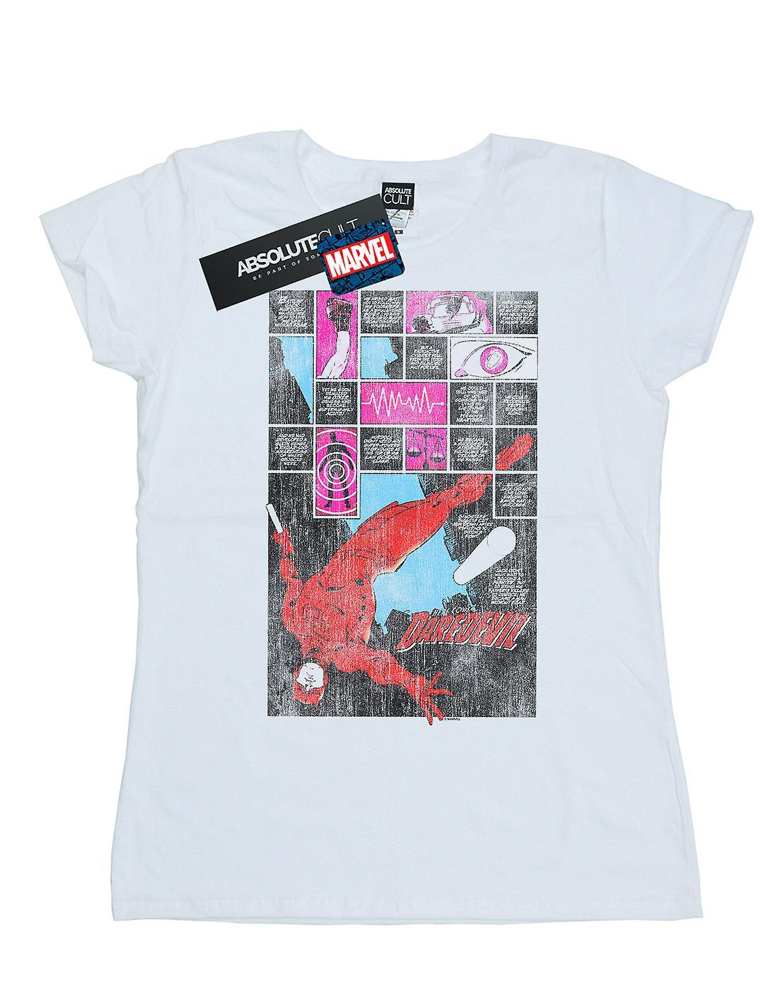 Marvel Women's Daredevil Comic Panels T-Shirt