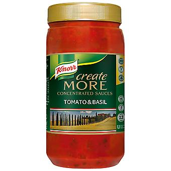 Knorr Tomato & Basil Create More Concentrated Sauce