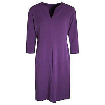 Hudson & Onslow Long Sleeve Dress With V-cut Neckline